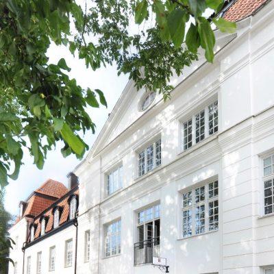 Newmaninstitutet ligger centralt i Uppsala med närbelägna studentbostäder.